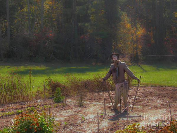 Photograph - Fall Scarecrow by Dale Powell