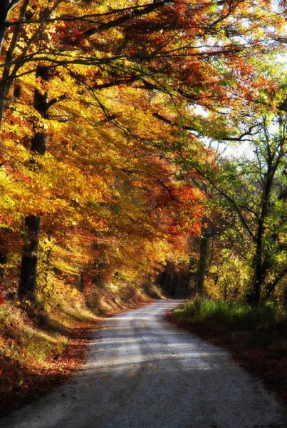 Fall Scenery Mixed Media - Fall Splendor by Cheryl Helms