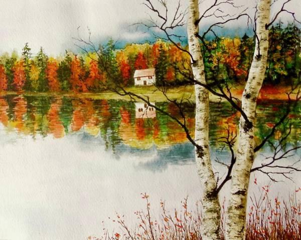 Fall Splendour Art Print