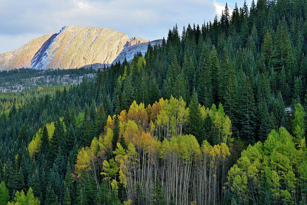Photograph - Fall Sunset At Molas Pass by Ray Mathis