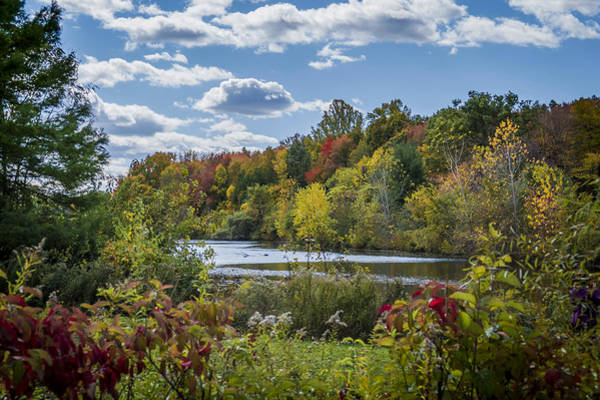 Photograph - Fall Time On The Lake by Jorge Perez - BlueBeardImagery