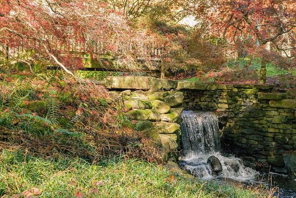 Photograph - Fall Waterfall by Keith Smith