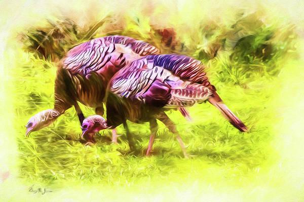Photograph - Fall Wild Turkey by Barry Jones