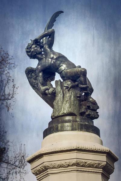 Wall Art - Photograph - Fallen Angel Madrid Spain by Joan Carroll