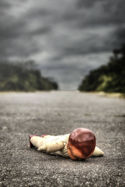 Wall Art - Photograph - Fallen Doll by Joana Kruse