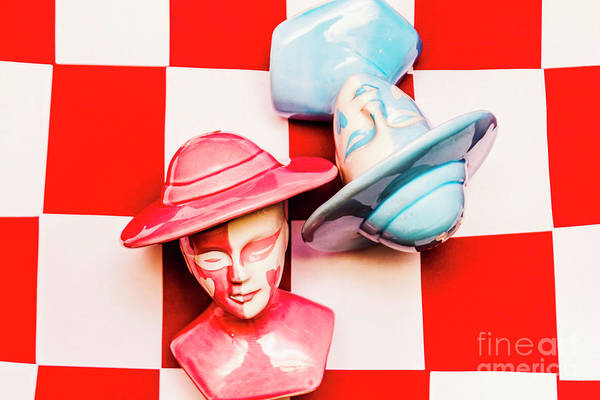 Strength Photograph - Fallen King And Queen On Chess Board by Jorgo Photography - Wall Art Gallery