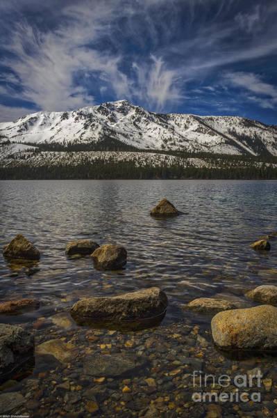 Fallen Leaf Lake Photograph - Fallen Leaf Lake Rocky Bottom by Mitch Shindelbower