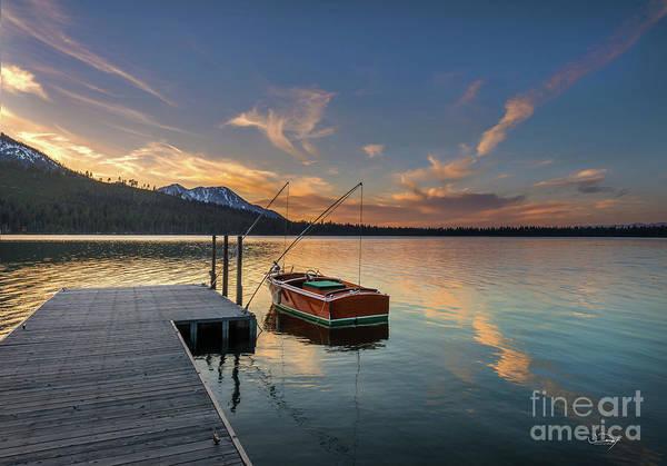 Wall Art - Photograph - Fallen Leaf Lake Sunset by Vance Fox