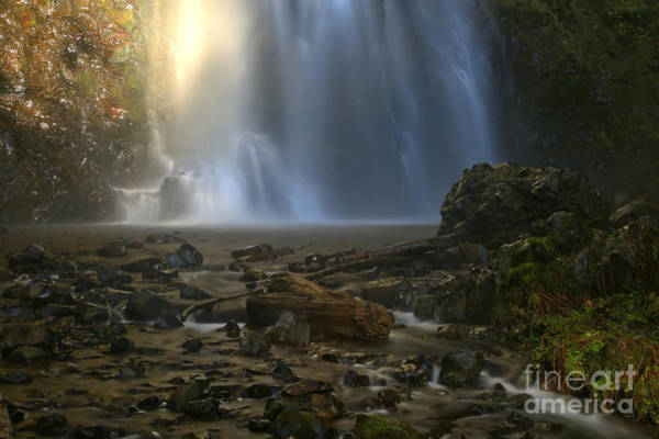 Photograph - Falling Into The Creek by Adam Jewell