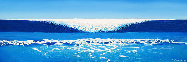 Painting - Falling Sea by Jaison Cianelli