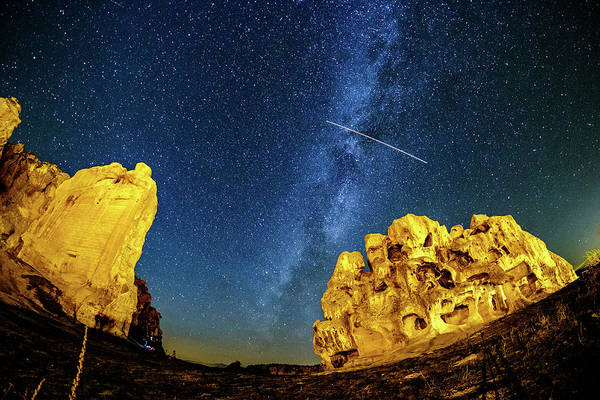 Photograph - Falling Star by Okan YILMAZ