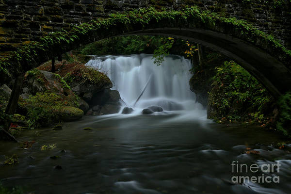 Photograph - Falling Under The Bridge In Whatcom by Adam Jewell