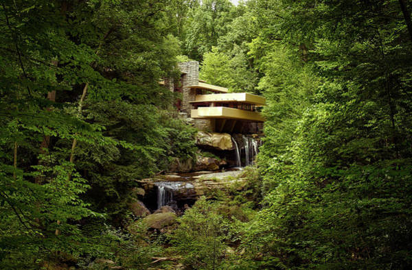 House Beautiful Photograph - Fallingwater  by Mountain Dreams