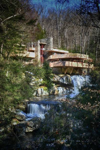 Wall Art - Photograph - Fallingwater by Shelley Smith