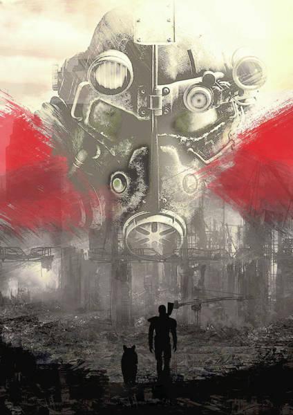 Digital Art - Fallout 4  by IamLoudness Studio