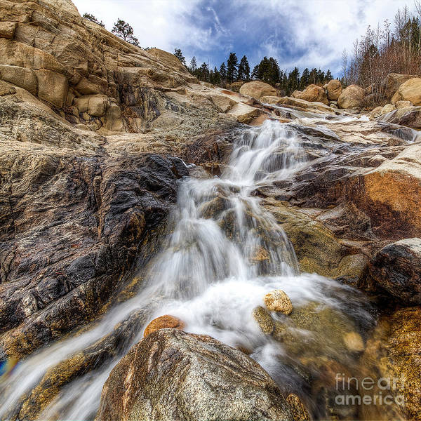 Wall Art - Photograph - Falls At Alluvial Fan by Twenty Two North Photography