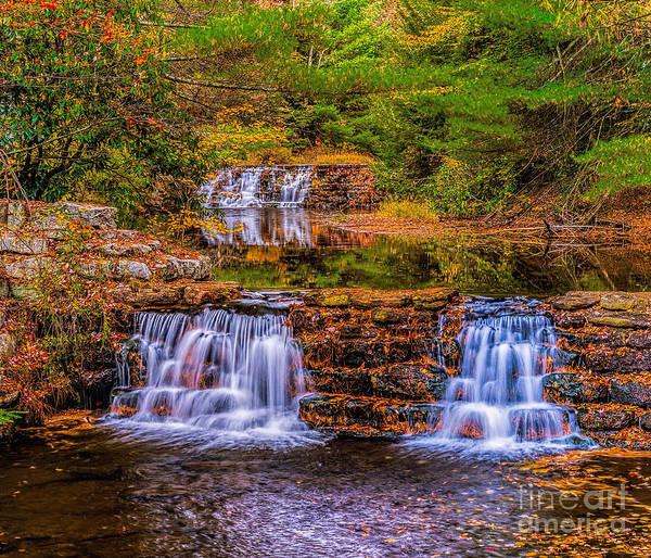 Photograph - Falls At Hickory Run Pa by Nick Zelinsky