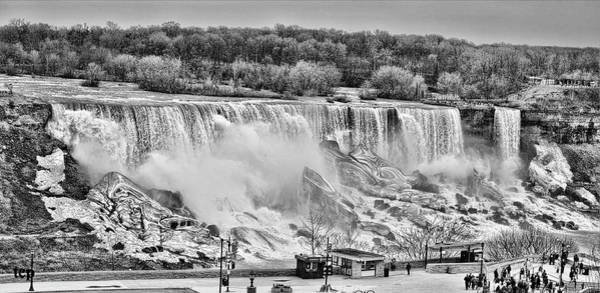 Photograph - Falls Black And White by Traci Cottingham