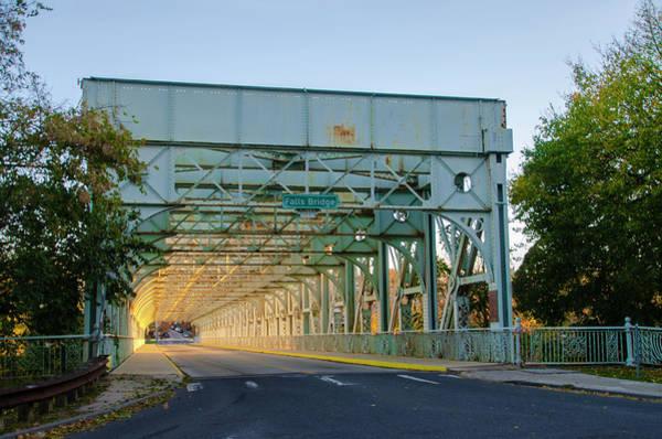 Photograph - Falls Bridge Over The Schuylkill - Philadelphia by Bill Cannon