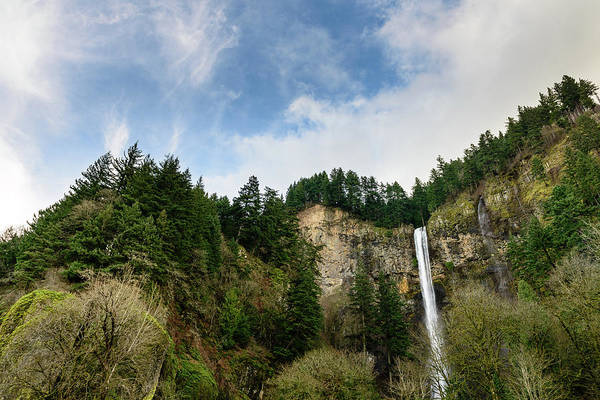 Photograph - Falls From Above by Michael Scott