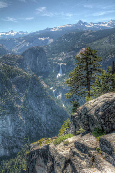 Photograph - Falls From Glacier Point by Michael Kirk
