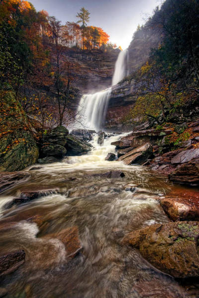 Catskills Photograph - Falls Fury by Neil Shapiro
