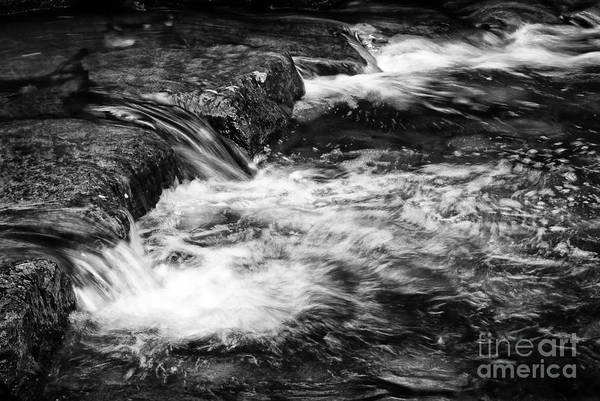 Photograph - Falls In Bw - 2929 by Paul W Faust - Impressions of Light