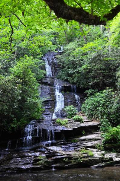 Falls Near Bryson City Art Print