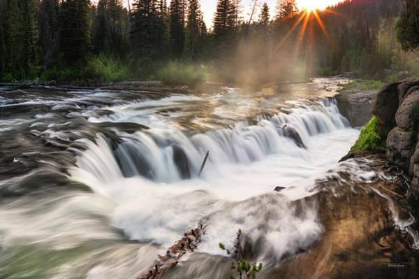 Photograph - Falls River Idaho by Leland D Howard