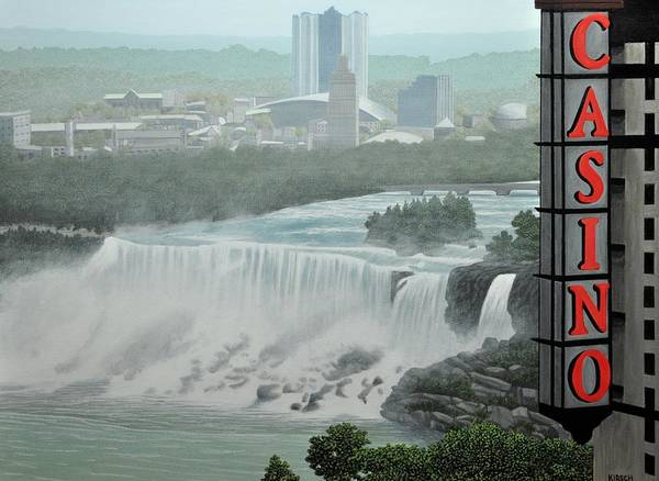 Painting - Falls View by Kenneth M Kirsch