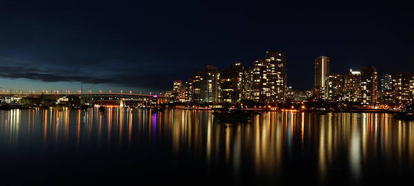 Photograph - False Creek Reflections by Cameron Wood