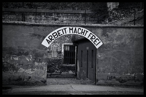 Terezin Photograph - False Freedom by Gene Myers