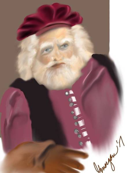 Digital Art - Falstaff by Gerry Morgan