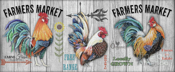 Wall Art - Mixed Media - Farmers Market Mug by Jean Plout
