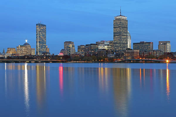 Photograph - Familiar Boston Landmarks by Juergen Roth