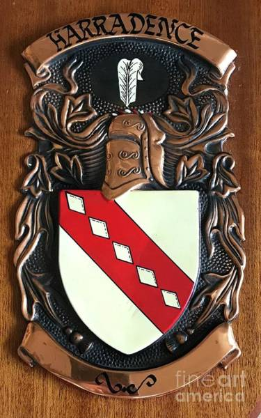 Relief - Family Crest by Sherry Harradence