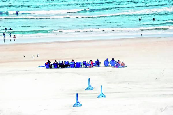 Photograph - Family Day At Beach by Gina O'Brien