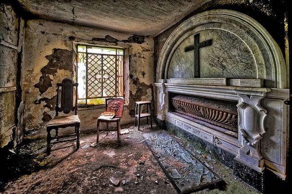 Photograph - Family Mausoleum - Mausoleo Di Famiglia 3 by Enrico Pelos