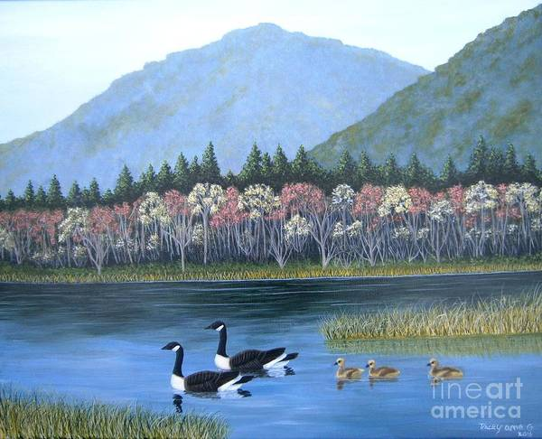 Painting - Family Outing by Tracey Goodwin