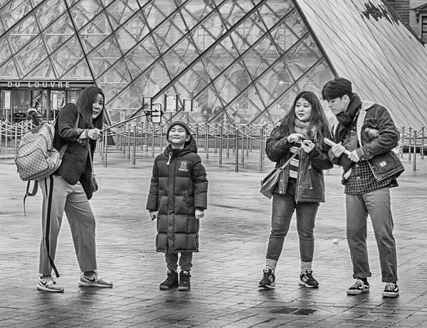 Photograph - Family Selfie by Jessica Levant