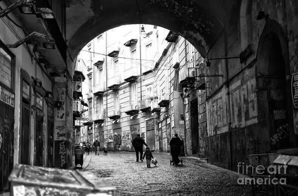 Wall Art - Photograph - Family Walk by John Rizzuto