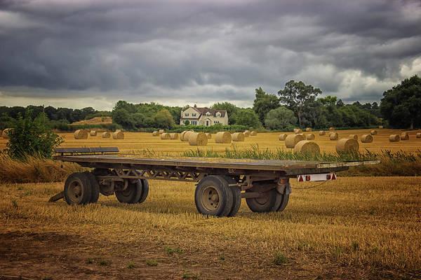 Bales Photograph - Famland by Martin Newman