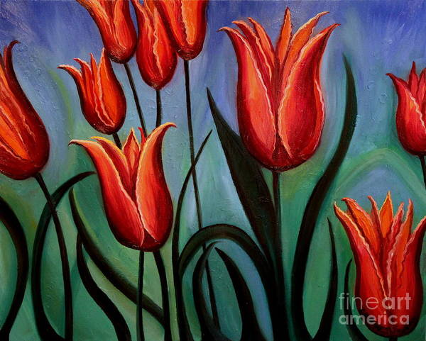 Painting - Fanciful by Elizabeth Robinette Tyndall
