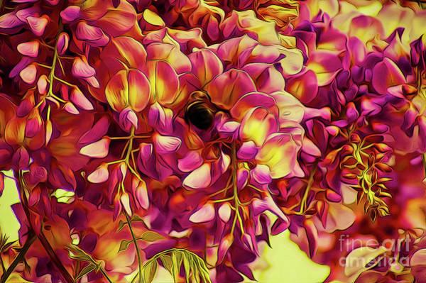 Digital Art - Fanciful Flowers 2 by Kim Pate