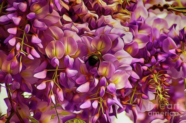 Digital Art - Fanciful Flowers by Kim Pate