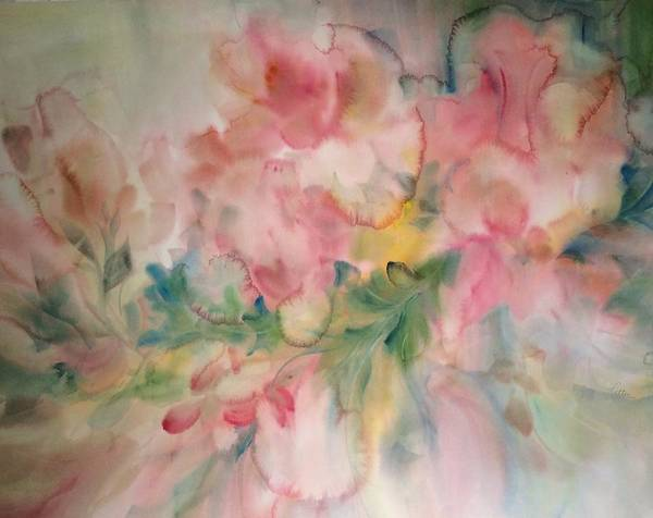 Painting - Fancy Frills by Karen Ann Patton