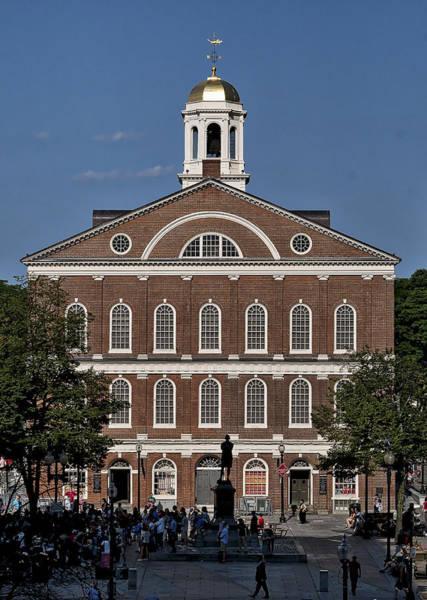 Photograph - Faneuil Hall - Boston - Massachusetts by Steven Ralser