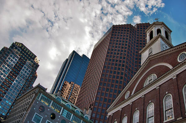Photograph - Faneuil Hall Marketplace - Boston by Joann Vitali