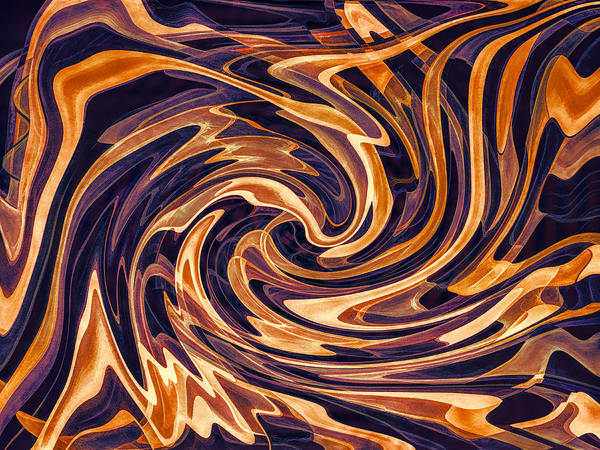 Jewels Digital Art - Fanning The Flames by Jon Woodhams