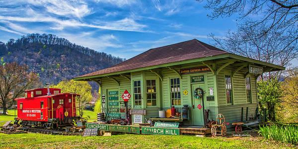 Photograph - Fannon Train Museum by Dale R Carlson